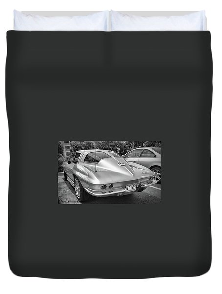 1963 Split Rear Window Coupe Duvet Cover