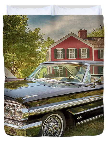 1964 Ford Galaxie 500 Xl Duvet Cover