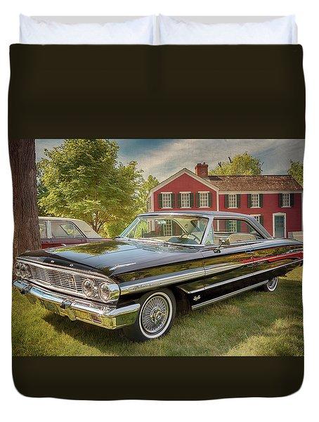 1964 Ford Galaxie 500 Xl Duvet Cover