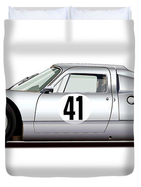 1964 Porsche 904 Carrera Gts Duvet Cover by Alain Jamar