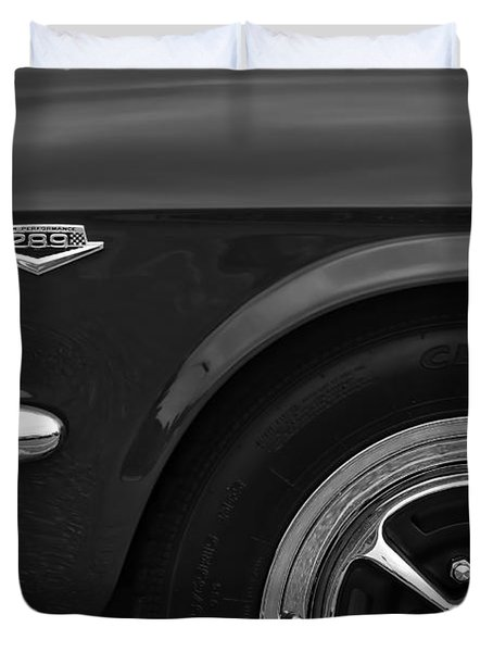1964.5 Ford Mustang - 289 High Performance Duvet Cover by Gordon Dean II