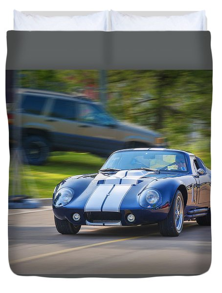 1965 Ford Cobra Daytona Coupe Replica Duvet Cover