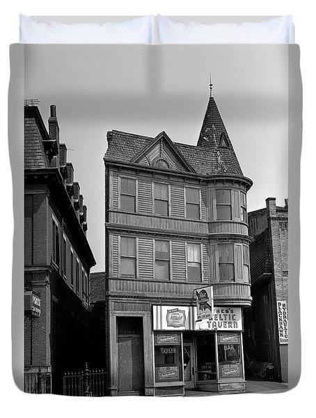 1965 Jack's Celtic Tavern Boston Duvet Cover