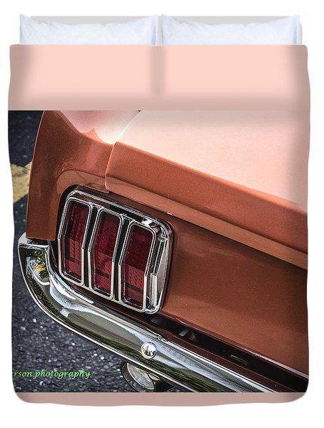 1965 'stang Duvet Cover