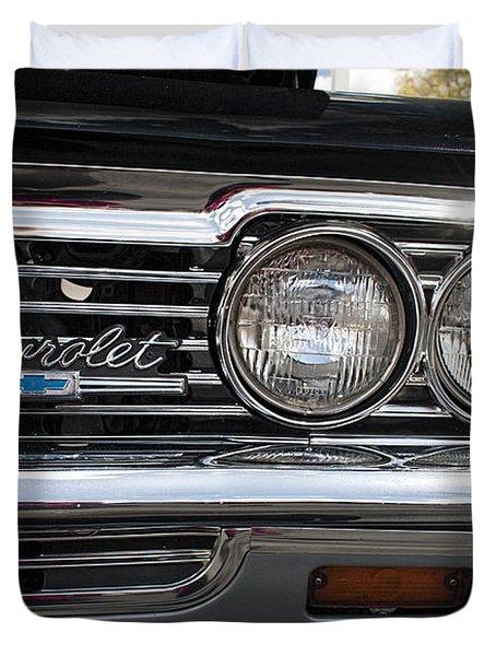 1966 Chevy Impala Chrome Duvet Cover