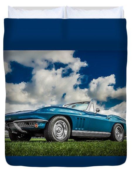 1966 Corvette Stingray  Duvet Cover