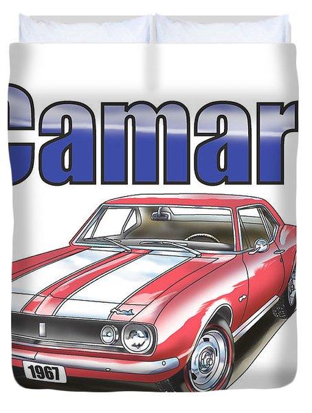 1967 Camaro Duvet Cover
