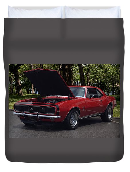 1968 Camaro Duvet Cover by Tim McCullough