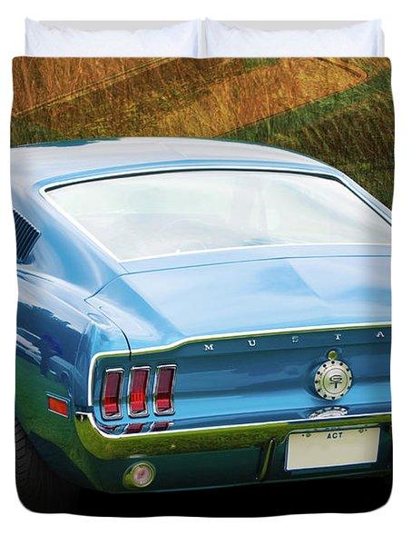 1967 Mustang Duvet Cover