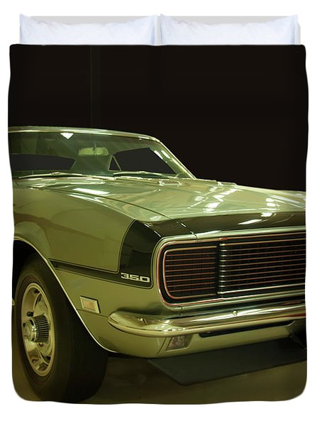 1968 Chevy Camaro Rs-ss Duvet Cover