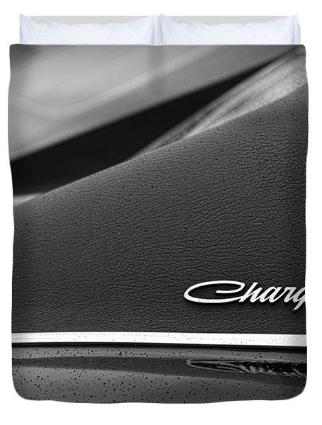 1968 Dodge Charger Duvet Cover by Gordon Dean II