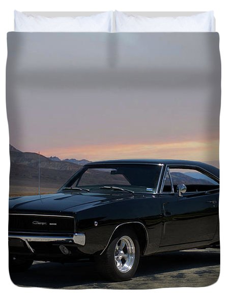 1968 Dodge Charger Rt 440 Duvet Cover