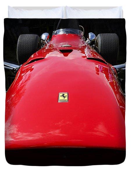 1968 Ferrari 312 F1 Duvet Cover