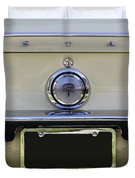1968 Mustang Gt Fastback Duvet Cover