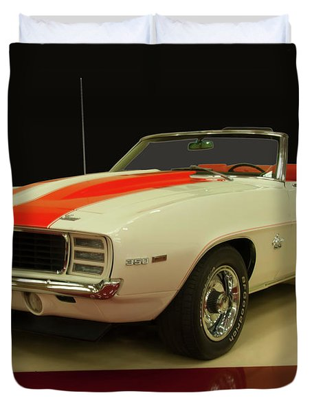1969 Chevy Camaro Rs/ss Indy Pace Car Duvet Cover