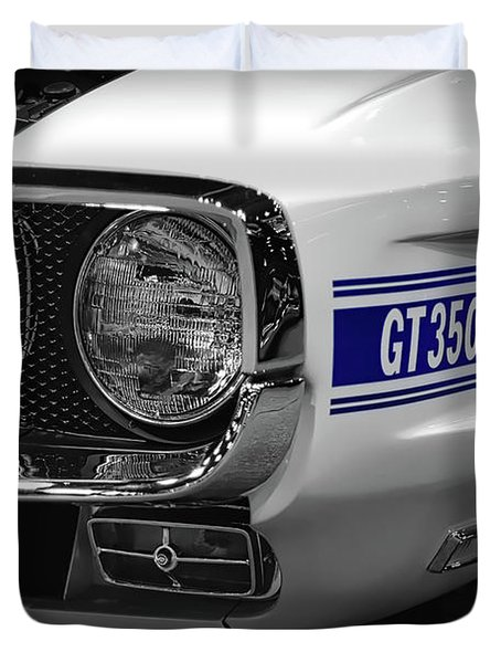 1969 Ford Mustang Shelby Gt350 1970 Duvet Cover