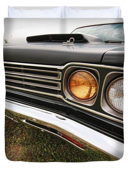 1969 Plymouth Road Runner 440-6 Duvet Cover by Gordon Dean II