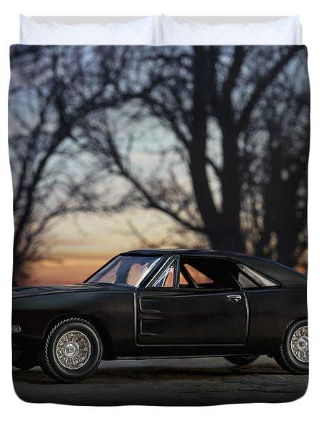 1969 Roadrunner Duvet Cover