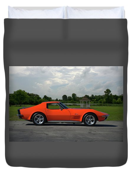 1970 Corvette Stingray Duvet Cover