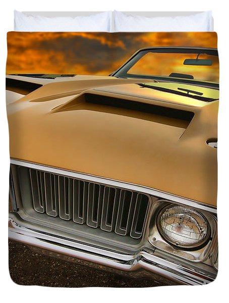 1970 Oldsmobile 442 W-30 Duvet Cover by Gordon Dean II