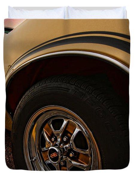 1970 Oldsmobile Cutlass 4-4-2 W-30  Duvet Cover by Gordon Dean II