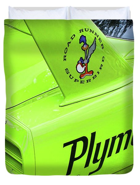 1970 Plymouth Superbird Duvet Cover