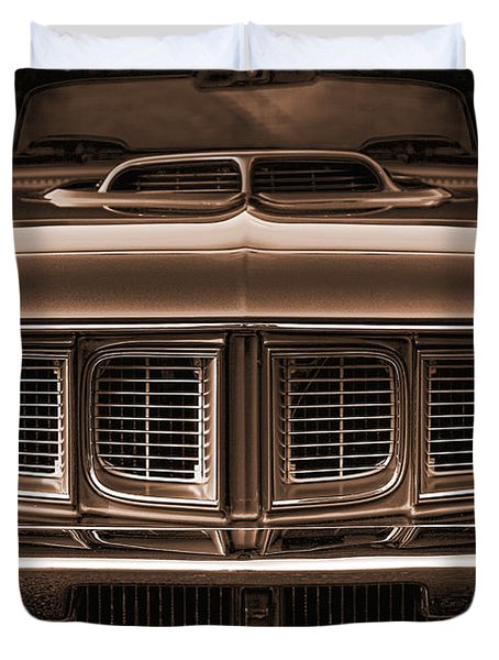 1971 Plymouth 'cuda 440 Duvet Cover