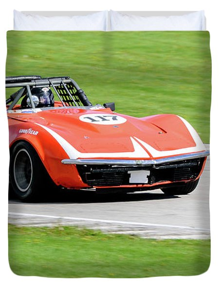 1972 Chevrolet Corvette Duvet Cover