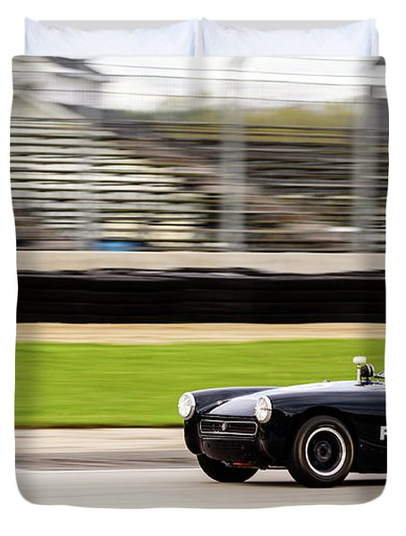 1972 Mg Midget Duvet Cover