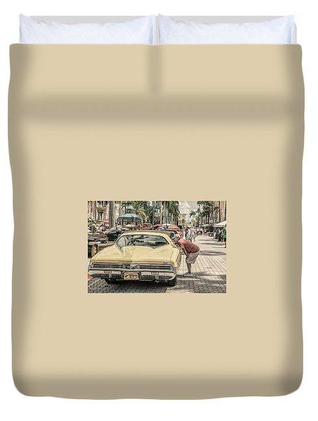 1973 Buick Riviera Duvet Cover