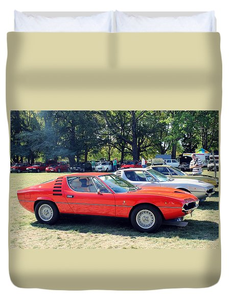 1974 Alfa Romeo Montreal Duvet Cover