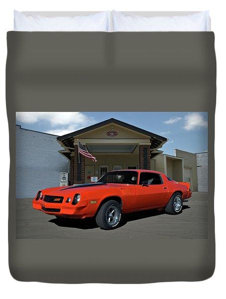 1981 Camaro Z28 Duvet Cover