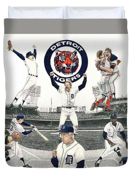 1984 Detroit Tigers Duvet Cover