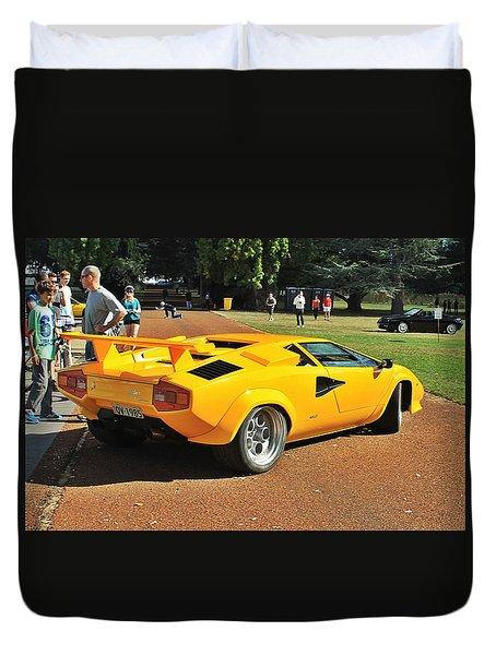 1985 Lamborghini Countach 5000 Qv Duvet Cover