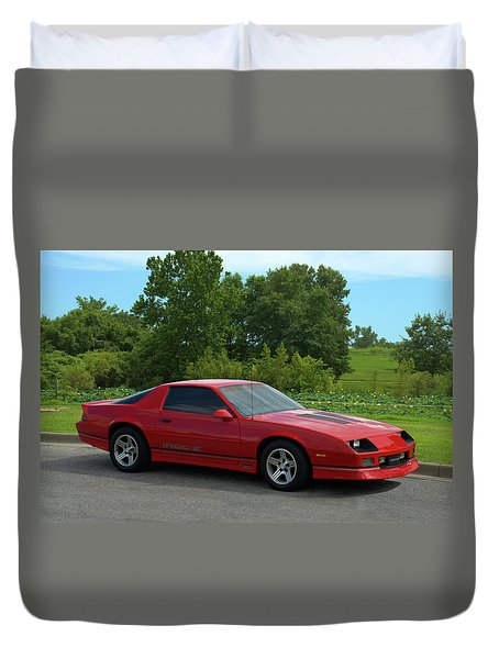 1989 Camaro Iroc Duvet Cover by Tim McCullough