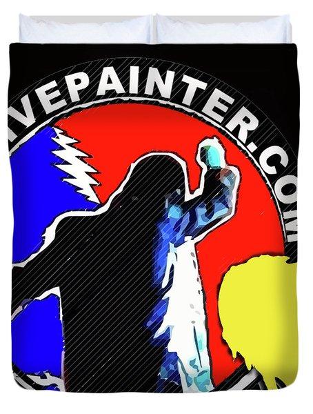 1st Live Painter Logo Duvet Cover