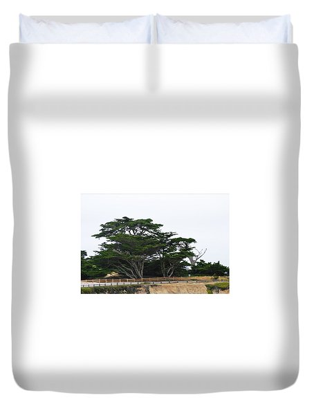 17-mile Drive Duvet Cover