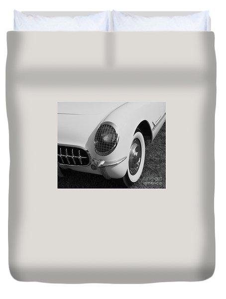 1953 Corvette Duvet Cover