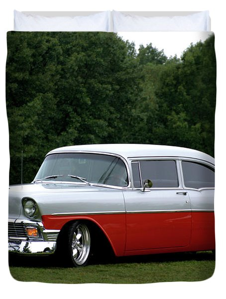 1956 Chevrolet Duvet Cover