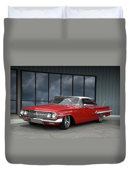 1960 Chevrolet Impala Duvet Cover