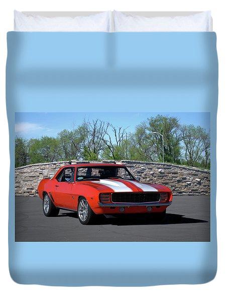 1969 Camaro Duvet Cover
