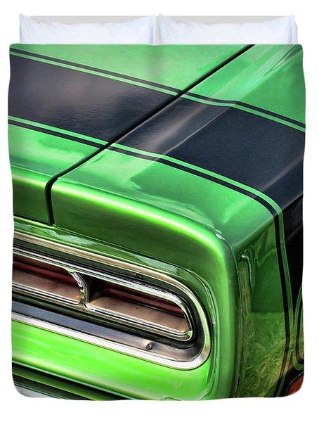 1969 Dodge Coronet Super Bee Duvet Cover by Gordon Dean II