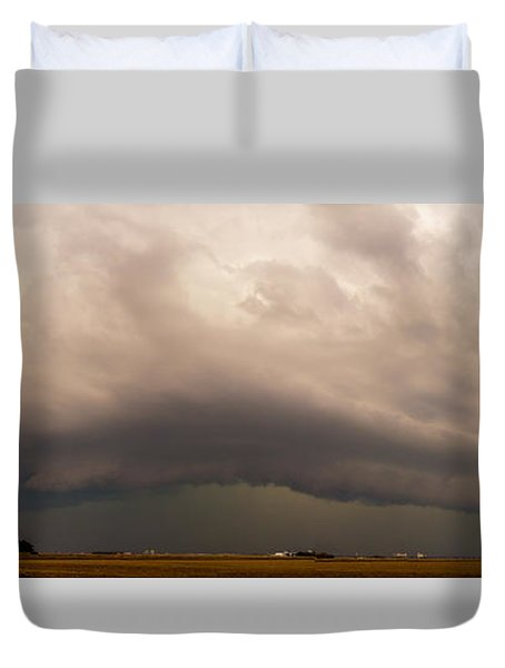 3rd Storm Chase Of 2015 Duvet Cover