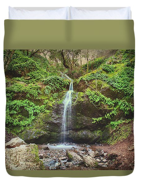 Duvet Cover featuring the photograph A Little Bit Of Love by Laurie Search