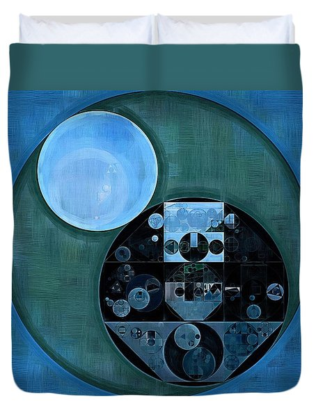 Abstract Painting - Lapis Lazuli Duvet Cover by Vitaliy Gladkiy