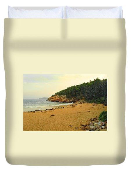Acadia  Duvet Cover by Raymond Earley