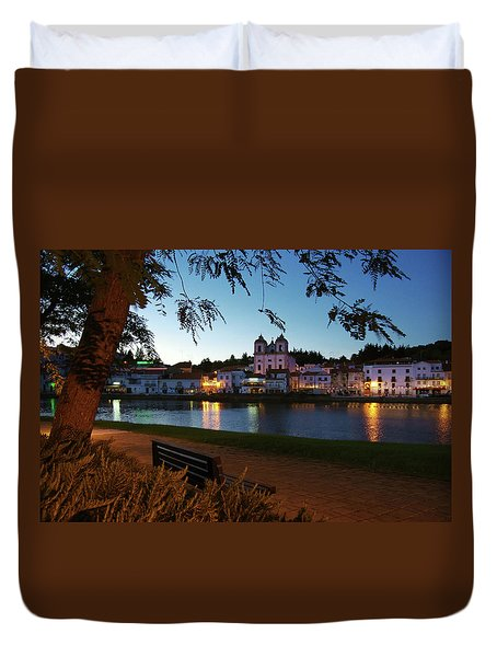 Duvet Cover featuring the photograph Alcacer Do Sal by Carlos Caetano