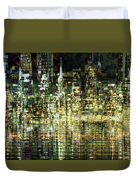 All That Glitters Duvet Cover