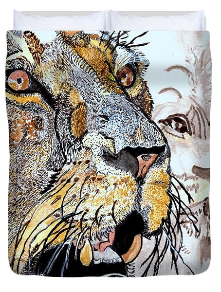 Always The King Duvet Cover by Connie Valasco