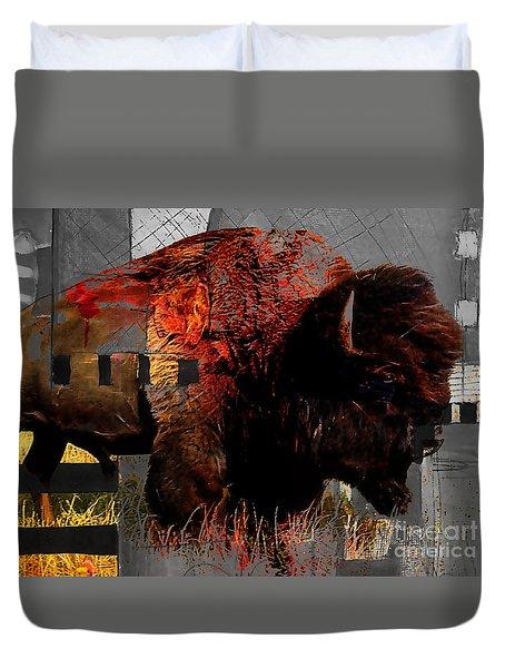American Buffalo Collection Duvet Cover